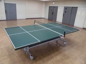 サウンドテーブルテニス台写真